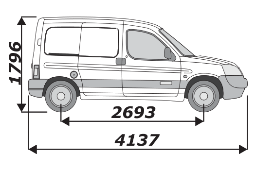 Citroen Berlingo 1996 2008 L1H1