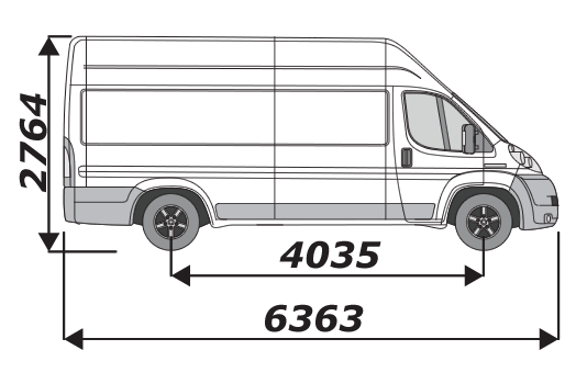 Citroen Relay 2006 On L4H3