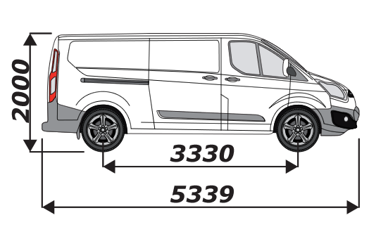 Ford Transit Custom 2012 On L2H1