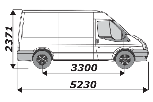 Ford Transit 2002 2014 L2H2