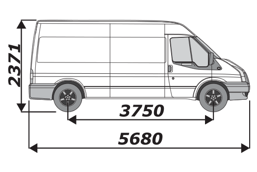 Ford Transit 2002 2014 L3H2
