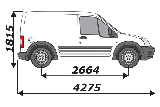 Ford Transit Connect 2002 2014 L1H1
