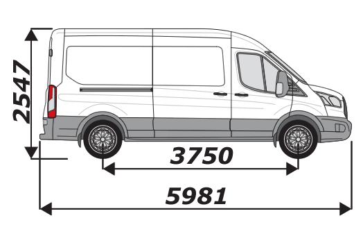 Ford Transit 2014 On L3H2