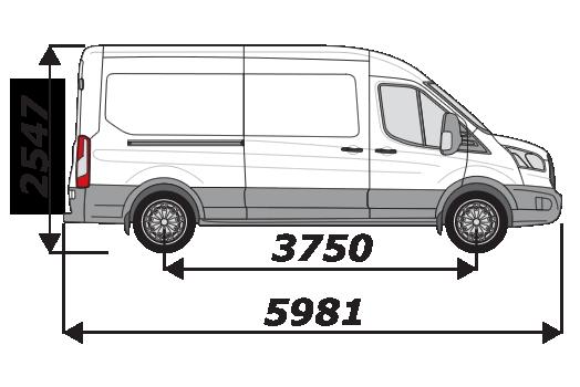 Ford Transit 2014 On L3H2