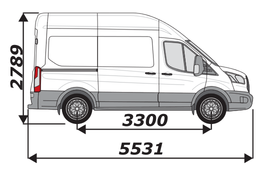 Ford Transit 2014 On L2H3