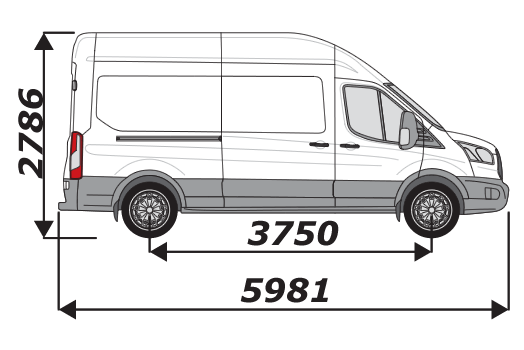 Ford Transit 2014 On L3H3