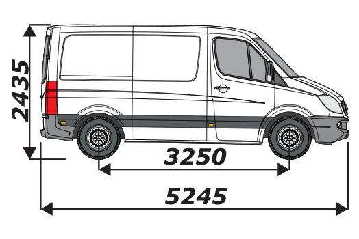 Mercedes Sprinter 2006 On L1H1