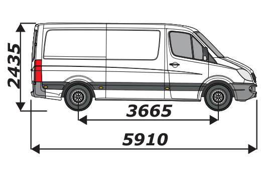 Mercedes Sprinter 2006 On L2H1