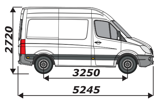 Mercedes Sprinter 2006 On L1H2