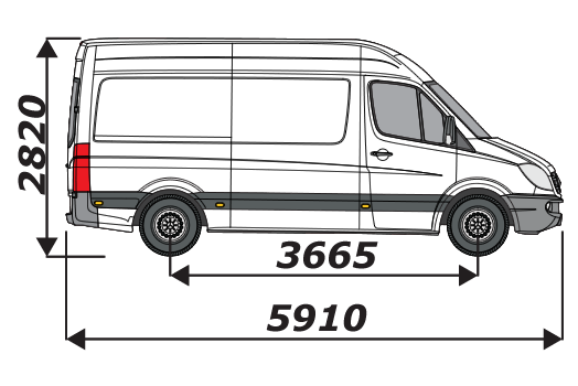 Mercedes Sprinter 2006 On L2H2