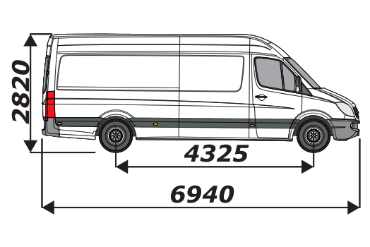 Mercedes Sprinter 2006 On L3H2